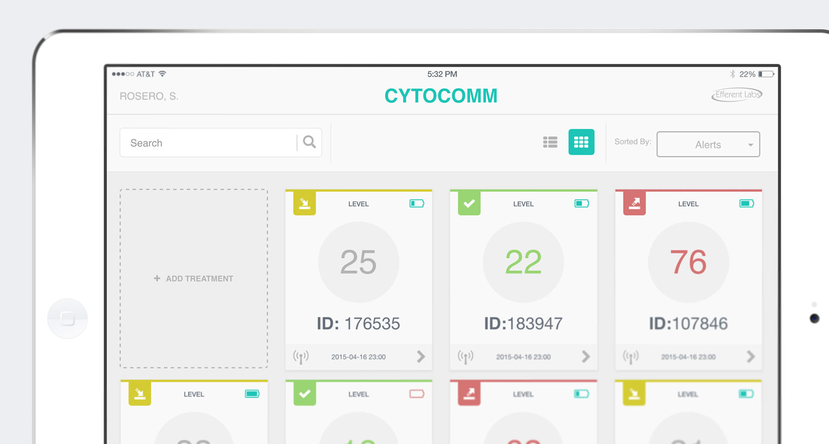 Cytocomm Home Screenshot